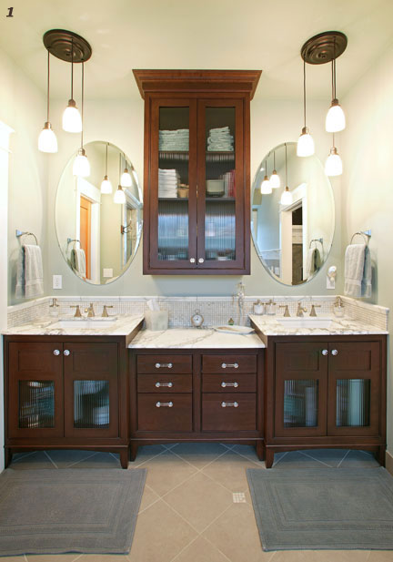 Click to find out more about Custom Bathroom Cabinetry